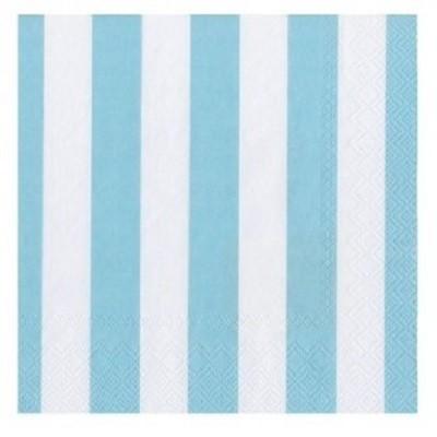Guardanapos Azul Claro Riscas