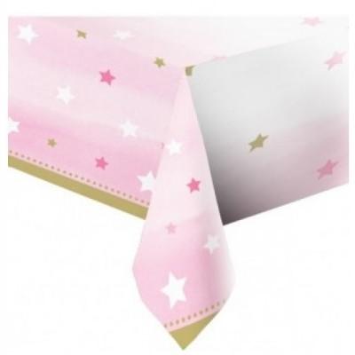 Toalha Estrelas Rosa