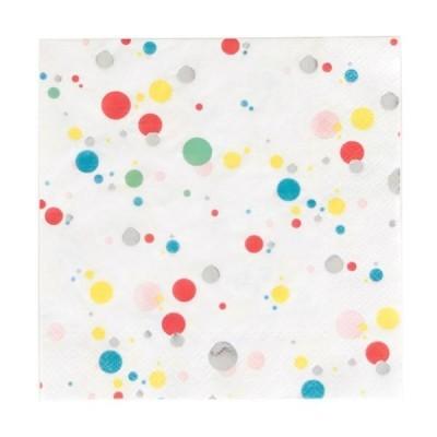 Guardanapos Confetis Coloridos