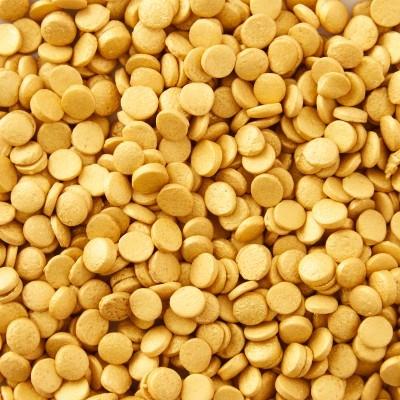 Confetis Açúcar Dourados