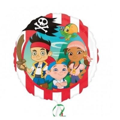 Jake Piratas Balão Médio