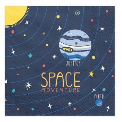Guardanapos Espaço e Astronautas