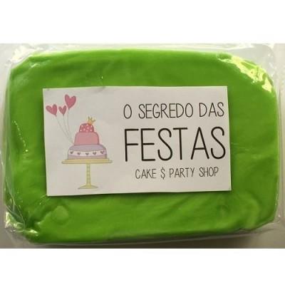 Pasta de Açúcar Verde Alface