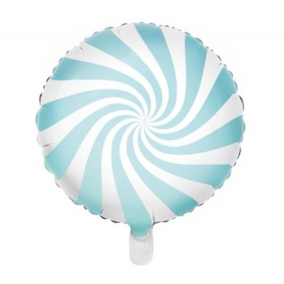Balão Candy Azul Claro