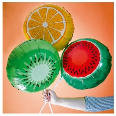 Conj. 3 Balões Frutas