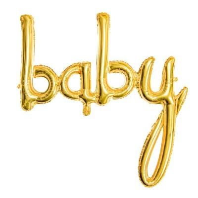 Balão Baby Dourado