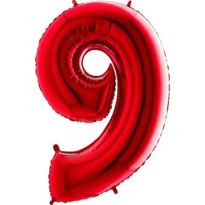Balão Gigante 9 Vermelho