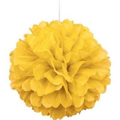 Pompom Grande Amarelo