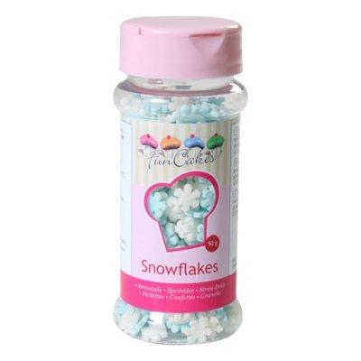 Confetis Açúcar Flocos de Neve