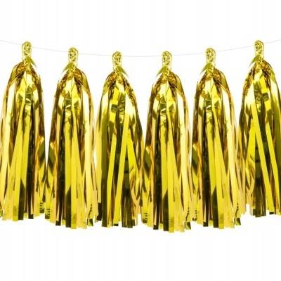 Grinalda Tassel Dourada