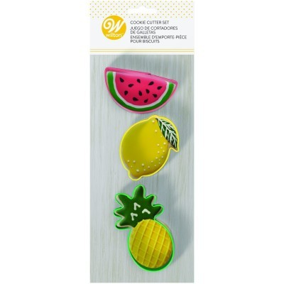 Conj. 3 Cortadores Frutas
