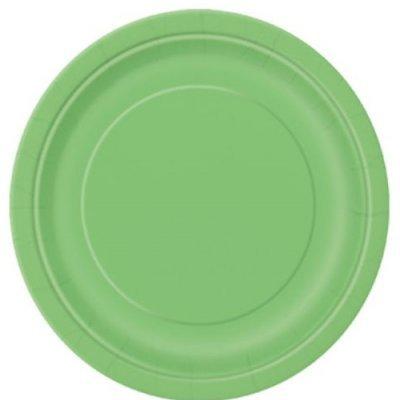 Pratos Verde Claro Grandes