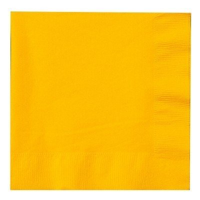 Guardanapos Amarelo Lisos
