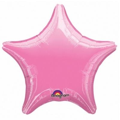 Balão Estrela Rosa