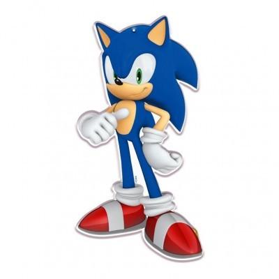 Conj. 2 Figuras Sonic