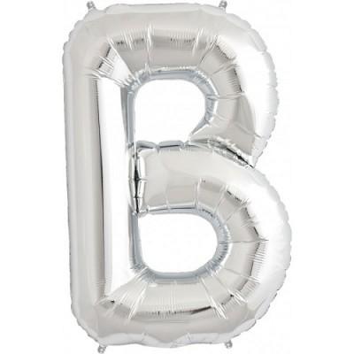 Balão B Prateado