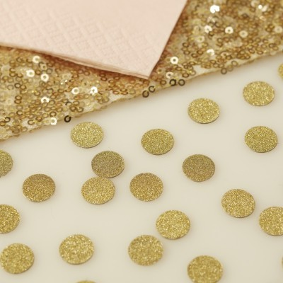 Confetis Dourados Glitter
