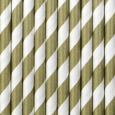 Palhinhas Dourado Riscas - Conj. 10