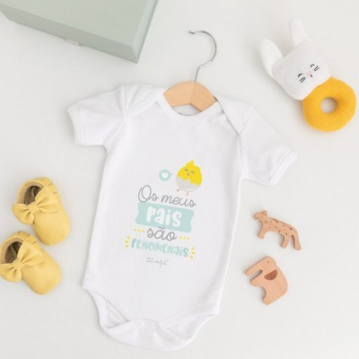 Body Para Bebé - Os Meus Pais São Fenomenais