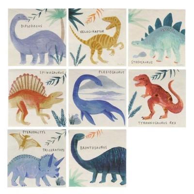 Guardanapos Dinossauro