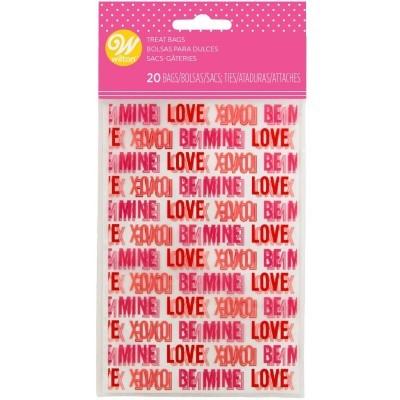 Conj. 20 Sacos Namorados Mini