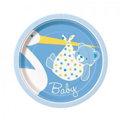 Pratos Bebé Azul Pequenos