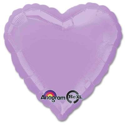 Balão Coração Lilás