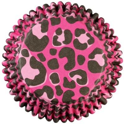 Formas Wilton Colorcups Leopardo Rosa