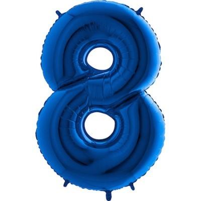 Balão Gigante 8 Azul Escuro
