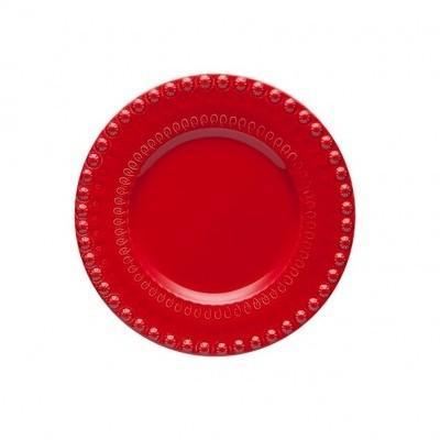 Prato Fruta Vermelho 22 cm