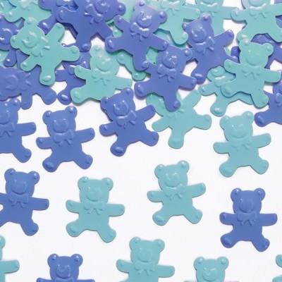 Confetis Ursinhos Azul