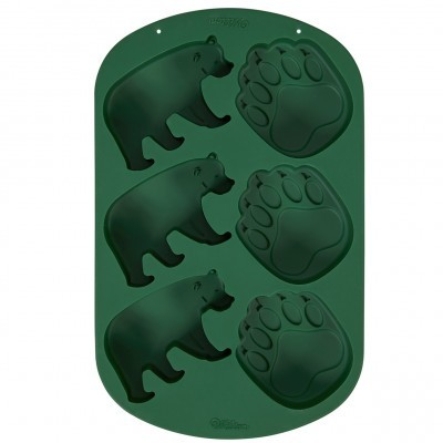 Molde Silicone Bosque Urso