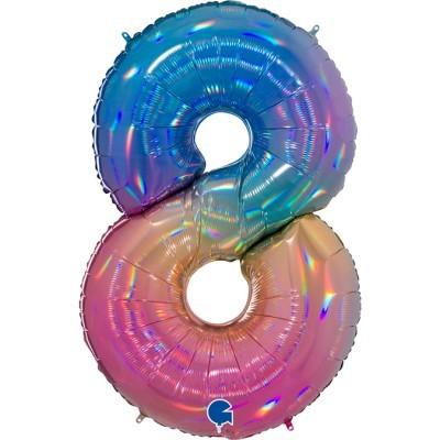 Balão Gigante 8 Colorido
