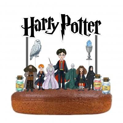 Topo Bolo Harry Potter