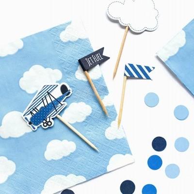 Guardanapos Nuvens Azul