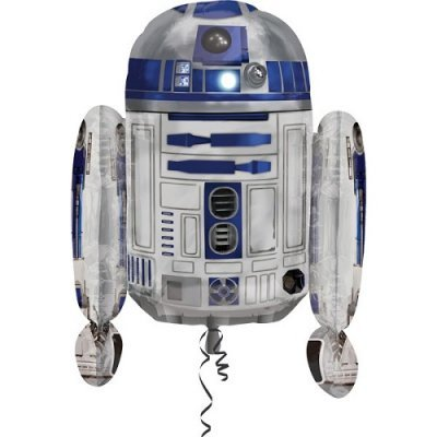 Star Wars R2D2 Balão Grande