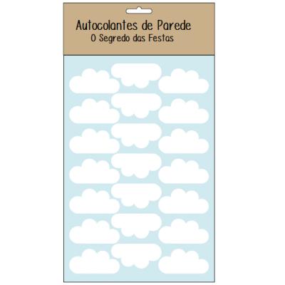 Autocolantes Parede Nuvens Branco