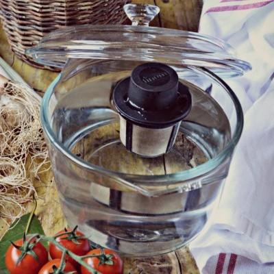 Infusor flutuante com malha inox para chá/infusão - M FLOATING BASKET - Finum®