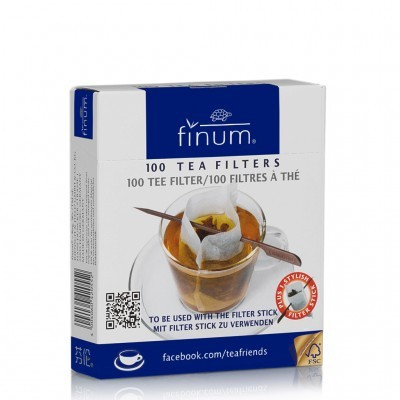 "Filtros ""Open Style"" para chá/infusão (loose leaf tea) - Finum®"