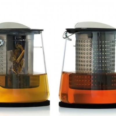 Bule para chá em vidro com infusor patenteado - TEA CONTROL 1.0L™ - Finum®