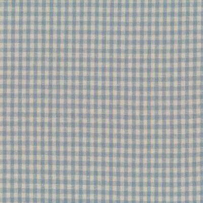 Linho quadrados azul