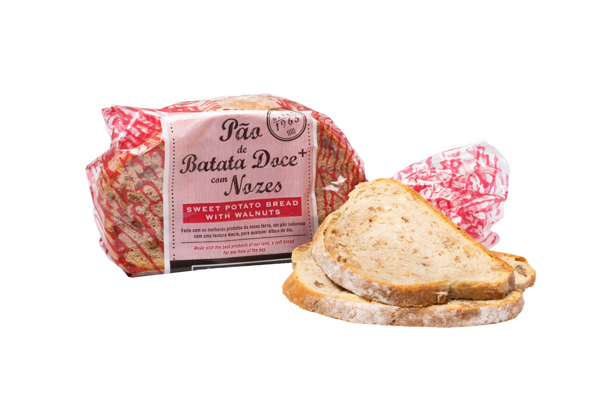 Pão de Batata-doce com Nozes