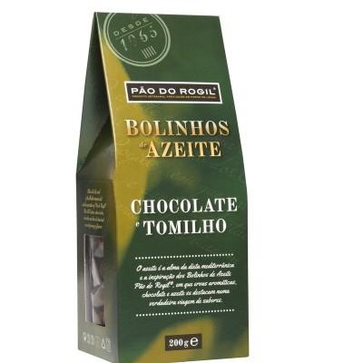 Bolinhos de Azeite, Chocolate e Tomilho
