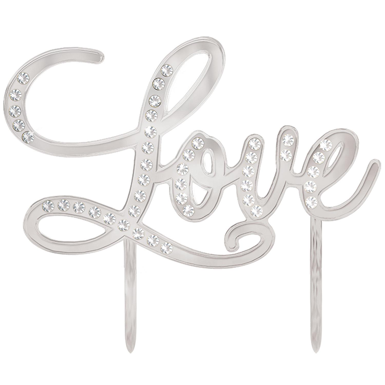 """Topo de Bolo """" Love"""""""