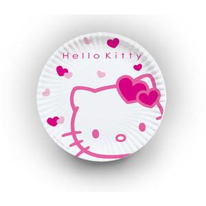 Pratos Hello Kitty