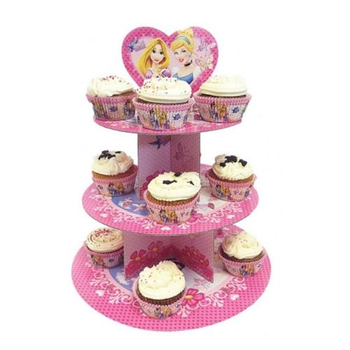 Suporte p/ Cupcake Princesas