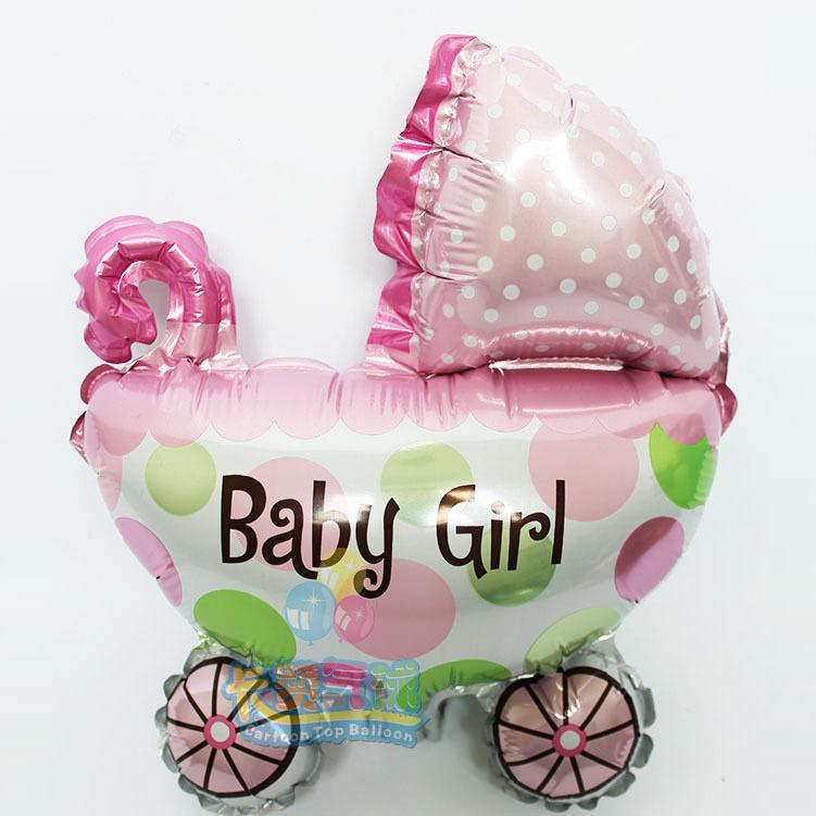 Balão Carrinho Baby Girl