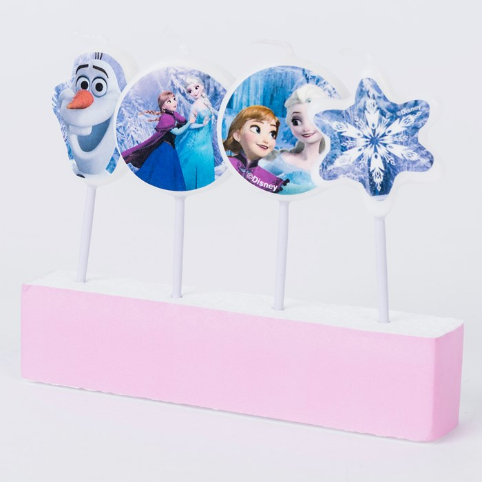 4 Velas Frozen