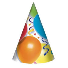 Chapéus Happy Birthday