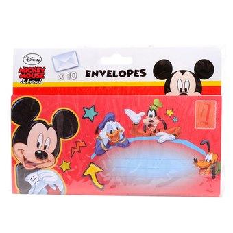 10 Envelopes Mickey